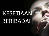 6 KESETIAAN BERIBADAH