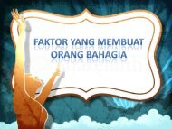 9 FAKTOR YANG MEMBUAT ORANG BAHAGIA