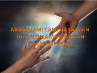 16 MENGALAMI CAMPUR TANGAN TUHAN