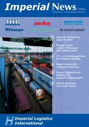 IMPERIAL News Ausgabe 02/2001 - Imperial Logistics International