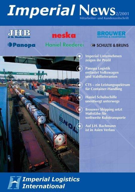 IMPERIAL News Ausgabe 02/2001 - Imperial Logistics International