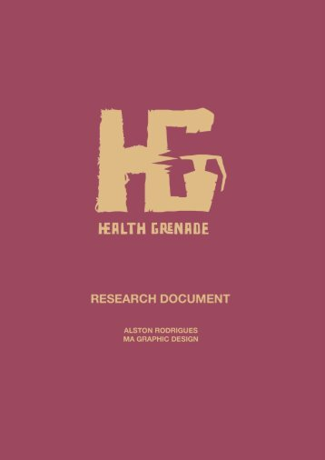 Health Grenade - Research Document