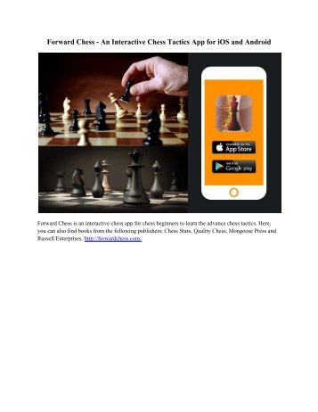 Forward Chess - An Interactive Chess Tactics App for iOS and Android