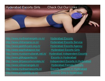 VIP Hyderabad Escorts Services