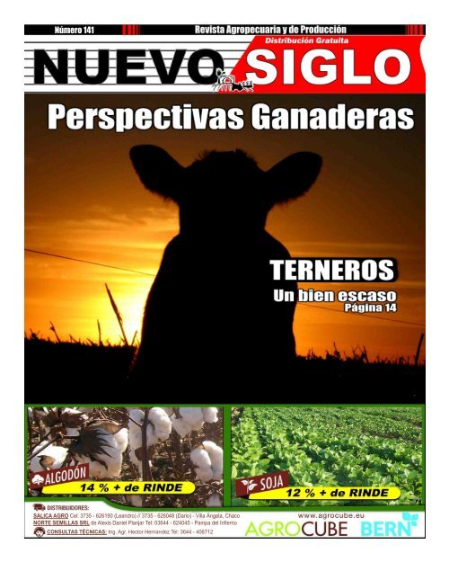 Revista Agropecuaria Nuevo Siglo Número 141 - Marzo 2016