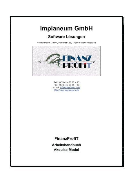 Implaneum GmbH Software Lösungen