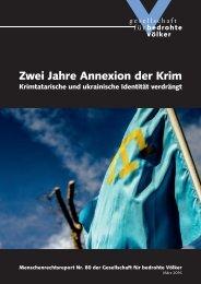 Zwei Jahre Annexion der Krim