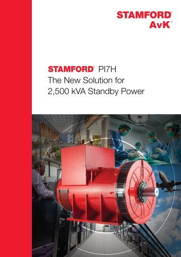 PI7H The New Solution for 2,500 kVA Standby Power