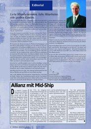Allianz mit Mid-Ship - Imperial Logistics International