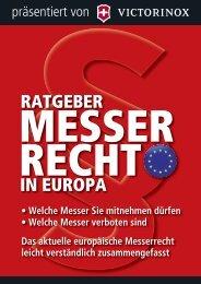 Ratgeber Messer Recht in Europa. - Swords and more GmbH