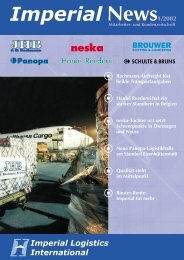 IMPERIAL News Ausgabe 01/2002 - Imperial Logistics International