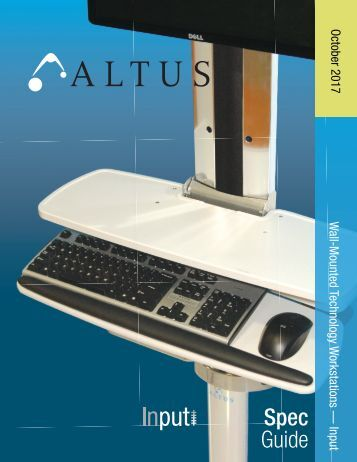 Altus Input Spec Guide with Pricing