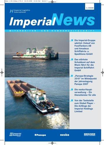 Die Imperial-Gruppe wächst: Zukauf von FoodTankers AB ... - Panopa