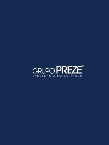 Grupo Preze - Folder institucional
