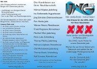 Drei Kreuze für die UWG JADE Für Ihren Kandidaten
