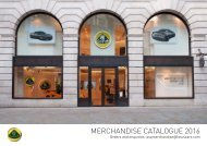 Merchandise Catalogue 2016