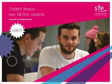 Student finance - new full-time students