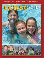 LCRAC Guide Summer 2016