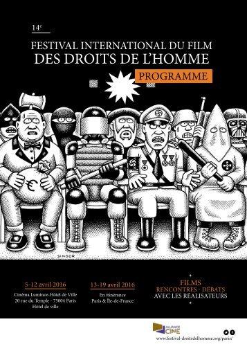 DES DROITS DE L'HOMME