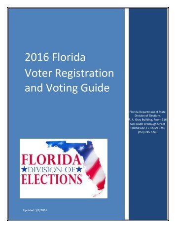 and Voting Guide