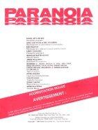 Paranoïa - Le Livret des Joueurs - Page 2
