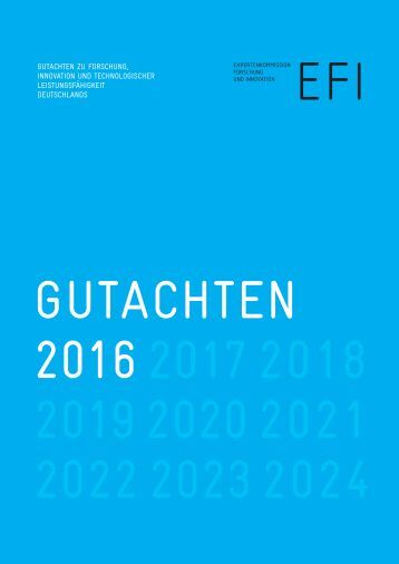 GUTACHTEN 2016 2017 2018 2019 2020 2021 2022 2023 2024