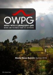 Media News Bulletin Spring 2016