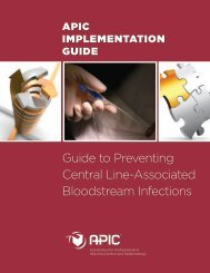 Guide to Preventing Central Line-Associated Bloodstream Infections
