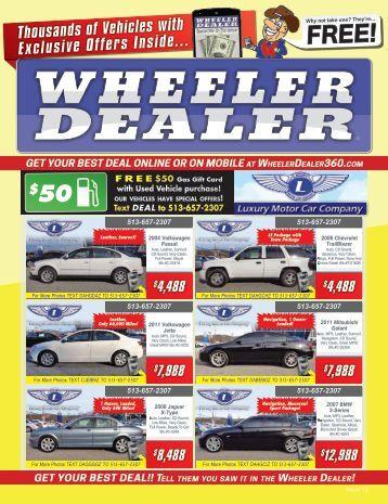 Wheeler Dealer Issue 12, 2016
