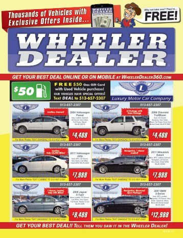 Wheeler Dealer Issue 12, 2016