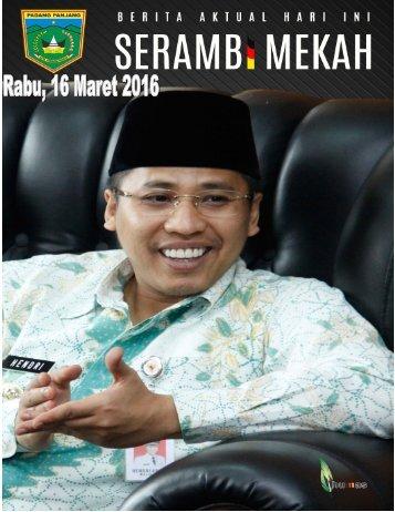 e-Kliping Rabu, 16 Maret 2016