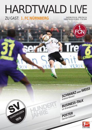 Hardtwald Live, Heft 12, Saison 2015/16