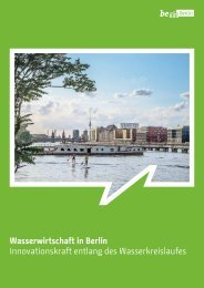 Wasserwirtschaft in Berlin