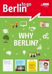 Berlin to go, Ausgabe 1.2016