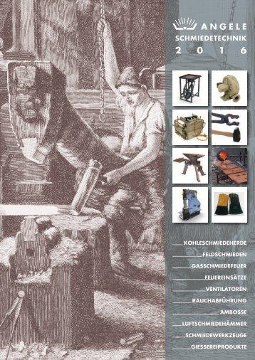 ANGELE Schmiedetechnik Katalog 2016