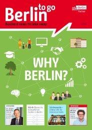 Berlin to go, english edition, 01/2016