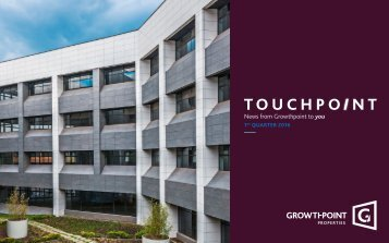 News from Growthpoint to you