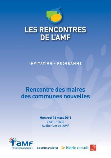 LES RENCONTRES DE L'AMF