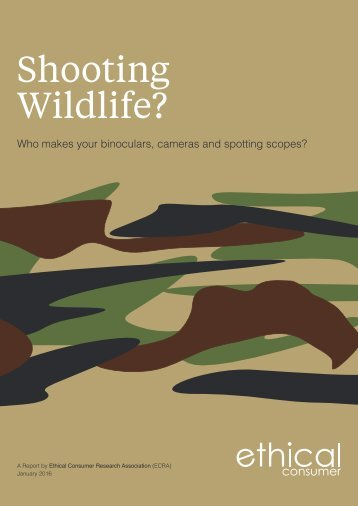 Shooting Wildlife?