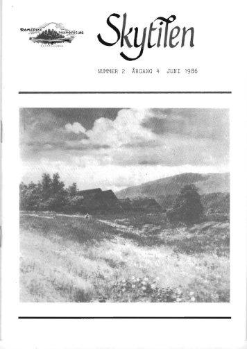 1986 Skytil nr. 2