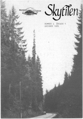 1986 Skytil nr. 3