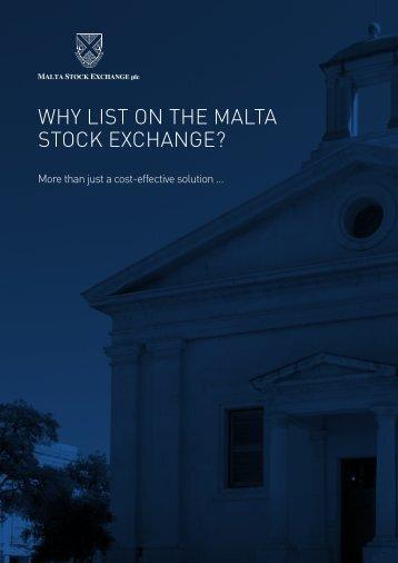STOCK EXCHANGE?