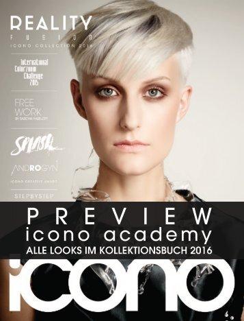 icono Kollektionsbuch 2016 academy
