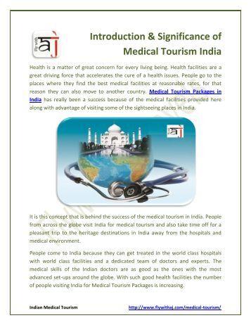 Dissertation on medical tourism