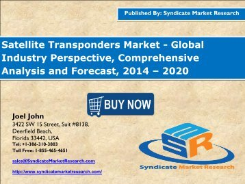 Global Satellite Transponders Market
