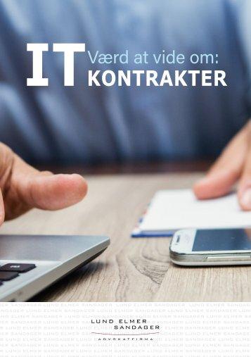 Værd at vide om IT kontrakter