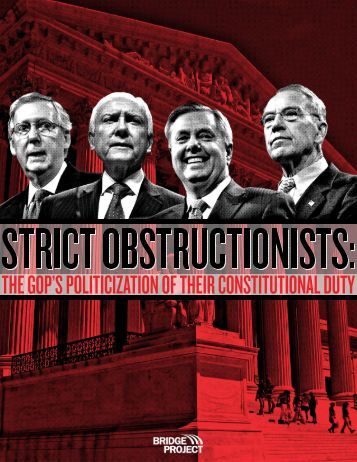 STRICT OBSTRUCTIONISTS