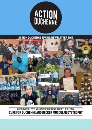 CURE FOR DUCHENNE AND BECKER MUSCULAR DYSTROPHY