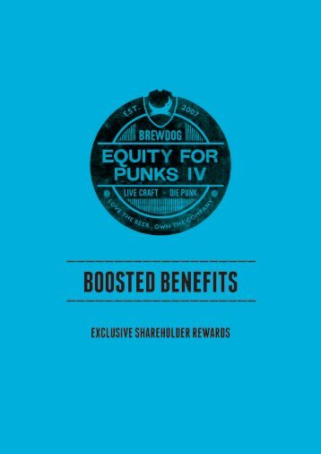 BOOSTED BENEFITS