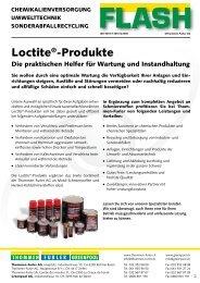 loctite®-Produkte - Thommen Furler AG